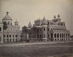 The Farhad Buksh Palace, Lucknow.
